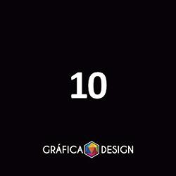 10 Cartaz Sem Verniz   +-30x42cm   Papel Couchê 120g NORMAL   Padrão   4x1 FRENTE Colorida VERSO Preto&Branco :: id 201080