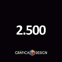 2.500 Folder Sem Verniz | +-14x10cm | Papel Couche 80gPAPEL+ BARATO | Padrão | 4x0 FRENTE Colorida apenas :: id 22534