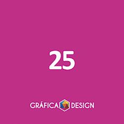 25 cópias iguais | Formato A3 sem Acabamento Verniz Total Frente (id 43164) +-31x45cm | Papel Supremo 300g VERSO IDEAL PARA ESCREVER | Acabamento Padrão | Impressão FRENTE Colorida VERSO Preto&Branco | 4x1 cores