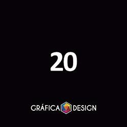 20 Banner em Lona Vertical | +-20x40cm | Tecido Emborrachado LONA 280g | Bastão e barbante | 4x0 FRENTE Colorida apenas :: id 56798
